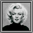 A very powerful and moving study of Marilyn in black and white