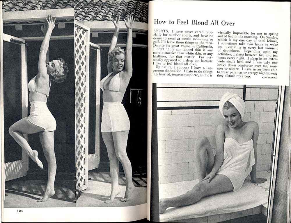 All personal Marilyn monroe nude legs spread